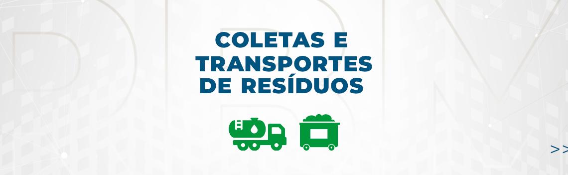 coleta e transportes de residuos - rbm residuos